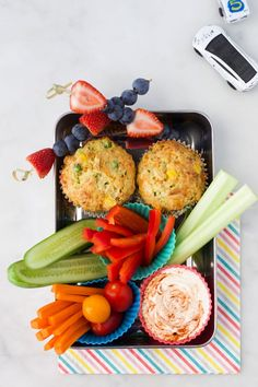 Vegetable Savoury Muffins - Healthy Little Foodies