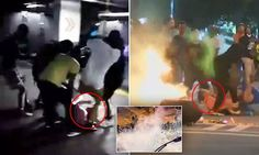 Videos emerge of protesters attacking white bystanders in Charlotte #DailyMail | These are some of the stories. See the rest @ http://www.twodaysnewstand.com/mail-onlinecom.html or Video's @ http://www.dailymail.co.uk/video/index.html And @ https://plus.google.com/collection/wz4UXB