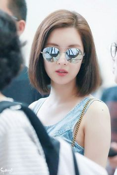 Seohyun - Gimpo Airport heading to Osaka for SMTown Concert