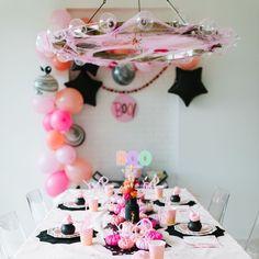 Modern Halloween, Pink Halloween, Halloween Party Decor, Holidays Halloween, Halloween Kids, Halloween First Birthday, Toddler Girl Halloween, Fourth Birthday, Baby Birthday
