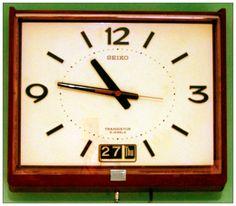 My Wall Clock Seiko Transistor 5 Jewels 1976