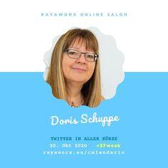 Heute im Online Salon zur European Freelancers Week: Twitter in aller Kürze mit Doris Schuppe @doschu Mit Fokus auf Freelancer Solopreneure klären wir die Fragen warum Twitter eine interessante Plattform ist und wie Nutzer:innen hier kommunizieren. Mit interaktiven Übungen und viel Platz für Fragen rund um Twitter Tweets und Twitterati. 17 Uhr geht's los im Zoom-Raum! rayaworx.eu/calendario (Link im Profil) . #efweek2020 #EFweek #europeanfreelancers #freelancelife #freelancer #twitter #b2b…