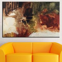 The original  wall picture Abstract Art wall painting for home decor ideas print on canvas oil painting No Framed