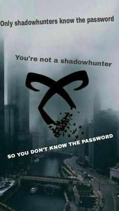 Shadowhunters lockscreens