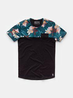 print T-shirt black