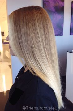 Blonde ombrè