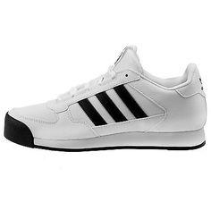 Adidas Samoa Runner Mens F37301 White Black Athletic Running Shoes Size 10.5