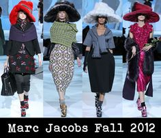 Hats hats Marc Jacobs Fall 2012 | Red Carpet Fashion Awards