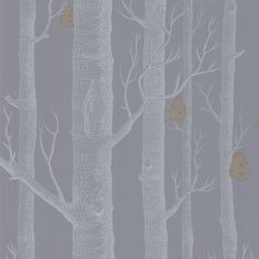 Contemporary Restyled  - Woods - 95-5030 Cole & Son behang wallpaper behangpapier behang woonkamer behang slaapkamer interieur design