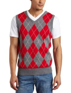 Southpole Men's Argyle Sweater Vest