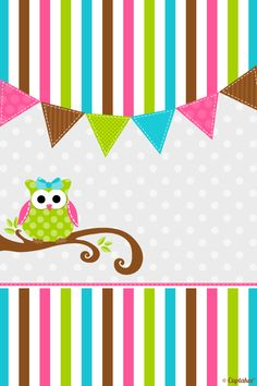 Cute owl wallpaper