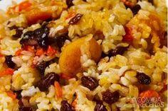 Receita de Arroz ao forno com uvas passas em receitas de arroz, veja essa e outras receitas aqui!