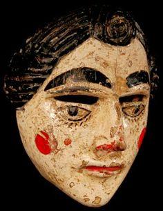 Guatemalan Dance Mask.