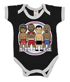 VIPwees Babygrow Boxing Middleweight Legends Boys