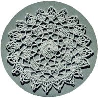Details of Nosegay Bedspread - free vintage crochet pattern
