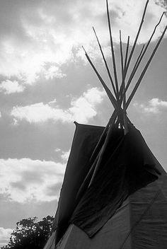 Tipi #5 by -- brian cameron --, via Flickr