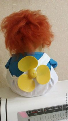 Купить Карлсон, текстильная ароматизированная игрушка - разноцветный, белый, синий, рыжий, оранжевый, карлсон