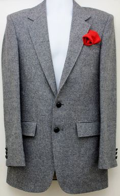 80's Vintage TAILORED CLOTHING Gray Any by StandoutVintageStore