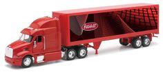 Red Tractor, Tractors, Toy Trucks, Fire Trucks, Peterbilt 387, Kids Power Wheels, Disney Cars Toys, Diecast, Mac