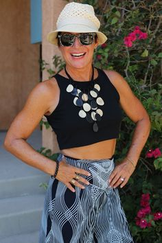 ADVANCED STYLE - My gorgeous 62-year-old friend Claudia is my new fitness inspiration