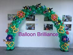 #balloondecor #balloonarch #twistedaccents #nishigallery #newacton #canberra #act #BalloonBrilliance