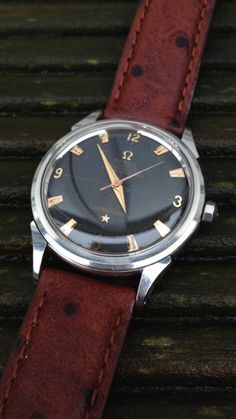 Omega Constellation Waffle Dial Omega Constellation Watches 1950s