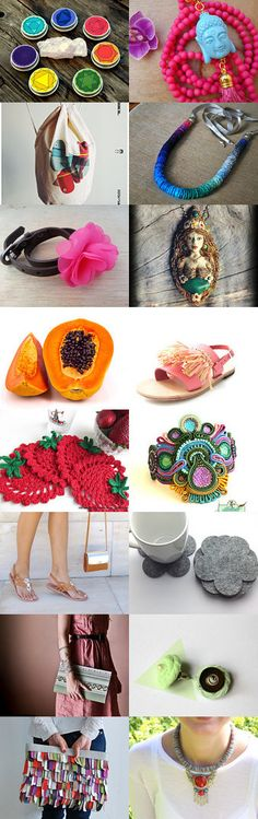 ♥ Summer Essentials ♥ by Marina Ellen Simillide on Etsy--Pinned with TreasuryPin.com