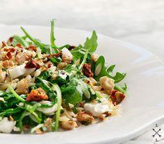 Orzo and Arugula salad w/lemon thyme