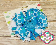 Monsters University Sully Boutique Hair Bow