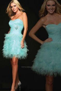 Cute short prom dress
