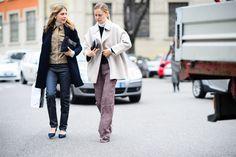 On the Streets of Milan Fashion Week Fall 2015 - Milan Fashion Week Fall 2015 Street Style Day 3