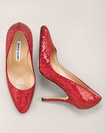 Dorothy's Ruby Red Manolo Blahnik's #MicraAttitude#Magyarország