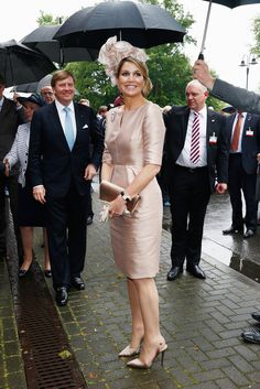Queen Maxima Photos: King Willem-Alexander Visits North Rhine-Westphalia