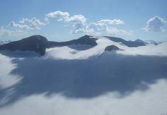 Vedere din Galdhopiggen, Norvegia