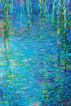 Waxwillow Lagoon III Canvas Artwork by Iris Scott Claude Monet, Landscape Art, Landscape Paintings, Monet Paintings, Paintings Of Nature, Horse Paintings, Impressionist Art, Pretty Art, Canvas Artwork