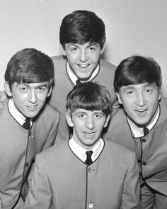 The Beatles - Paul McCartney, John Lennon, George Harrison, Ringo Starr, 1963