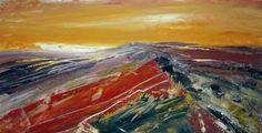 Moorland Sunset - Acrylic