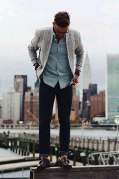 Mens Fashion Blog, Fashion Moda, Urban Fashion, Male Fashion, Fashion Ideas, Rugged Style, Mens Attire, Mens Suits, Suit Men