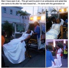 Happened in the Bahamas...and the ambulance EMS workers got fired too!