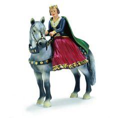 Schleich Ridderwereld - - Schleich 70048 Koningin te paard