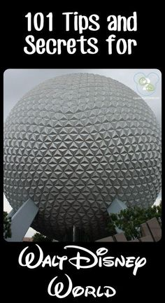 Pin now and read before your next trip to Walt Disney World. This list has 101 tips and you're sure to learn something new!