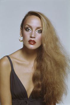 Lip color through the decades. A good walk through of what was pop in the different decades.Jerry Hall in photo. (Remember to keep it natural when shopping for cosmetics.)
