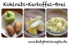 Kohlrabi-Kartoffel-Brei Rezept zum Selbermachen - Babybreirezepte zum Selberkochen.