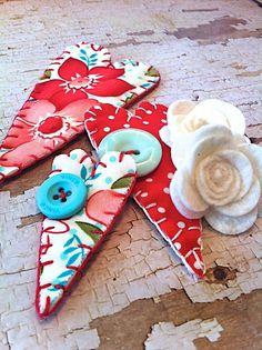 Fabric Embellishments by Hilary Kanwischer