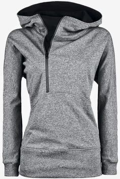 Comfortable Hoodie In Grey Color | Fashion Style Attire