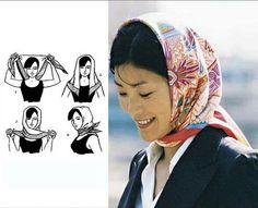 09 最新 丝巾 时尚 系 法 - 明星 的 最爱