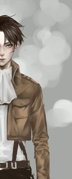 Levi - attack on titan. I own nothing, unfortunately.