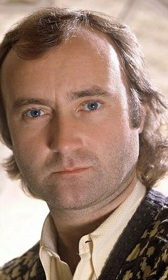 Phil Collins ~ GENESIS ~~ WOW Phil Collins has Beautiful Eyes ... Looks like there is a lot going on behind those Eyes!~~