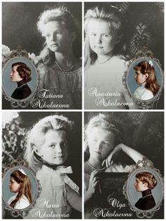 The Romanov sisters Tsar Nicolas Ii, Tsar Nicholas, La Familia Romanov, Anastasia Romanov, Olga Romanov, Romanov Sisters, House Of Romanov, Alexandra Feodorovna, Imperial Russia