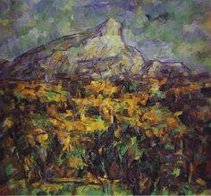 Landscape at Aix by Paul Cézanne